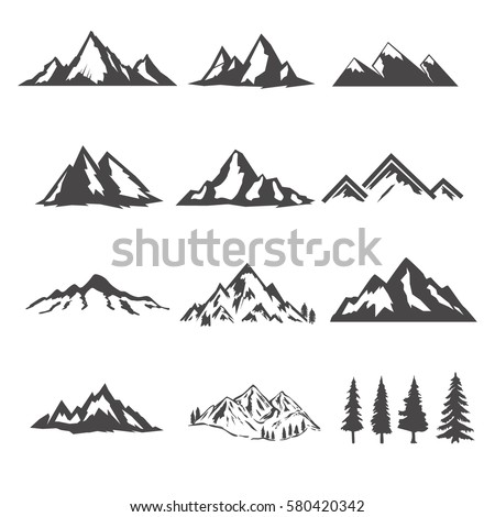 set of the mountains