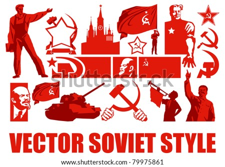 Set of the Soviet Style