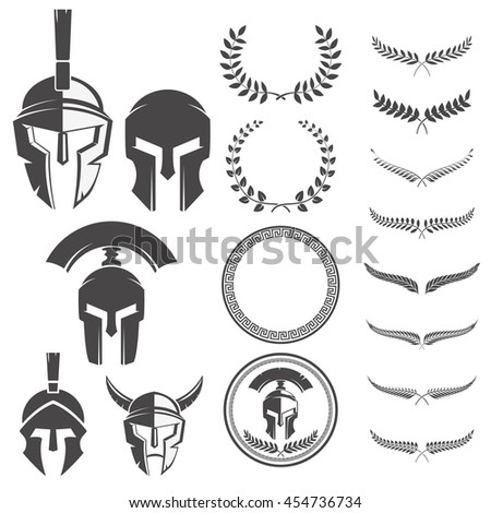 set of the spartan warriors