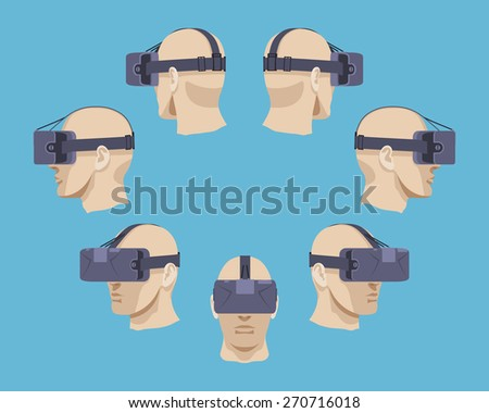 set of the virtual reality