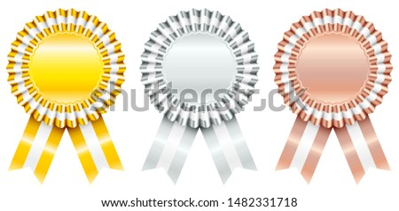 Gold And Silver Quality Badge Vector - Download Free Vector