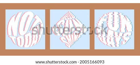 set of three backgrounds for