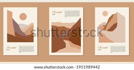 set of three natural minimalist
