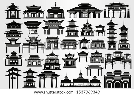 set of traditional chinese
