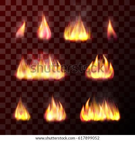 fiery glow burning sunset - photo #43