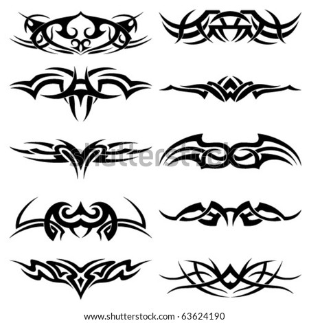 tattoo backgrounds. tattoo stock vector : Tattoo inspired tattoo backgrounds. pokemon tattoo