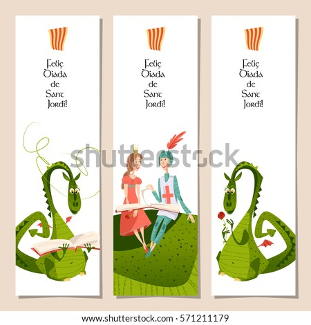 set of universal bookmarks with