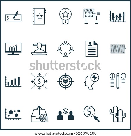 Set Of 20 Universal Editable Icons. Can Be Used For Web, Mobile And App Design. Includes Elements Such As Paid Upload, PPC, Present Badge And More. #526890100