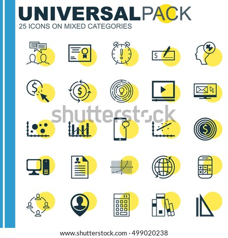 Set Of 25 Universal Editable Icons For Airport, SEO And Marketing Topics. Includes Icons Such As Bank Payment, Time Management, Raise Diagram And More