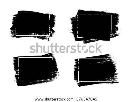 set of universal grunge black