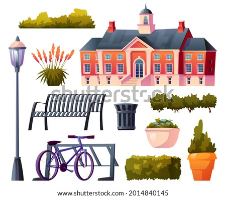 set of university or college