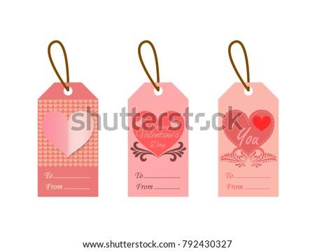 Valentine Gift Tag Template Fotos+100 >> Valentine Marvelous ...