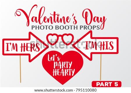 set of valentine's day