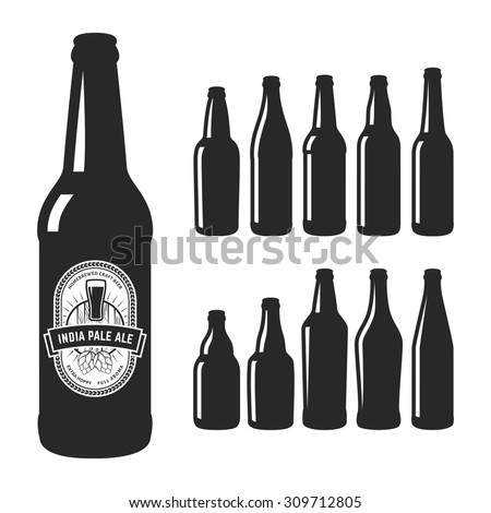 set of 10 various craft beer