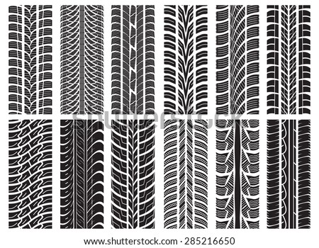 Royaltyfree Collection Textures Of Vector Tire 40 Stock Amazing Tire Tread Patterns