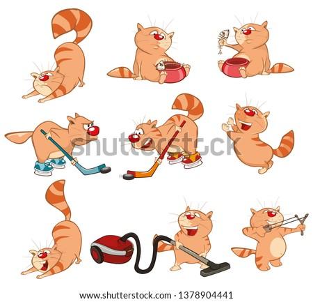 set of vector cartoon