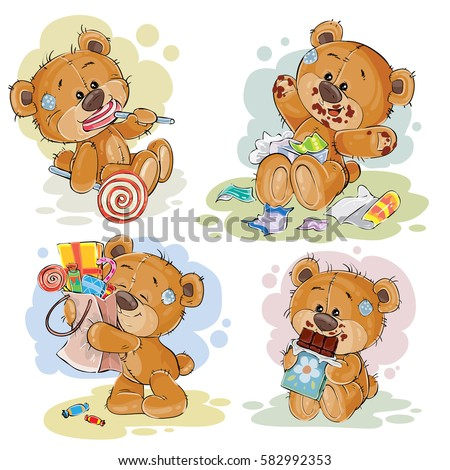set of vector clip art