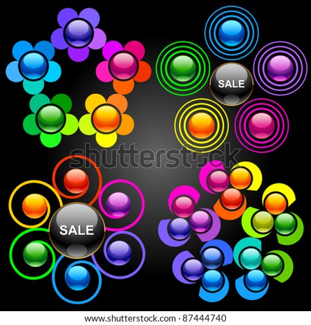 Set of vector design elements 2