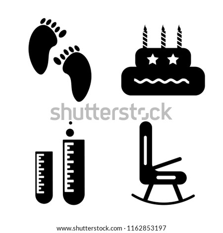 set of 4 vector icons such as
