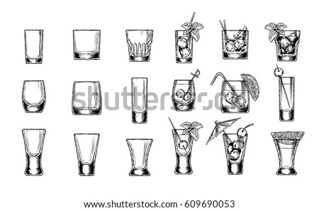 set of vector illustration of