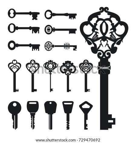 Set of vector keys