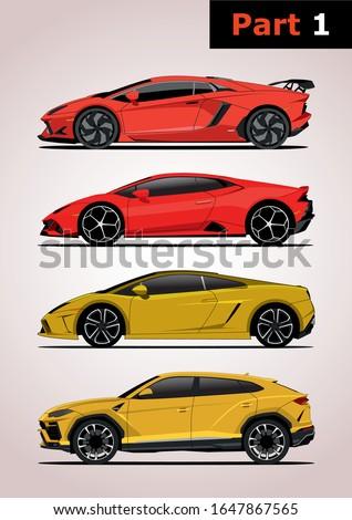 set of vector models of super