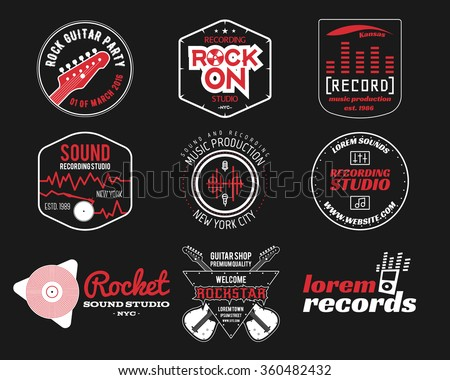 dj music logo download free vector art stock graphics images