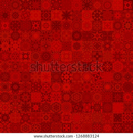 set of 169 vector patterns  red