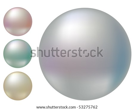 Set of vector pearls