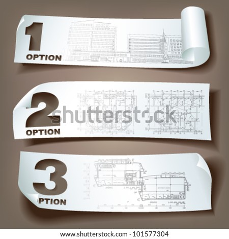 Set of vector sample stickers on neutral background for various use. More in my portfolio.