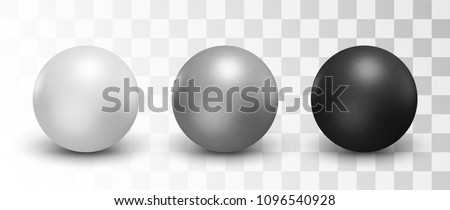 set of vector spheres and balls
