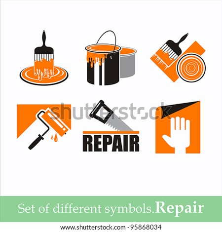set of vector symbols repair