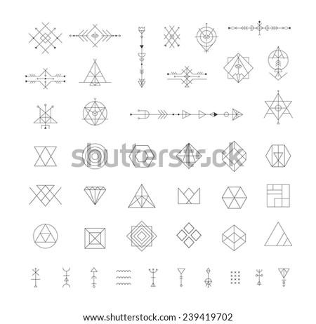 Alchemy Symbols Set Download Free Vector Art Stock Graphics Images