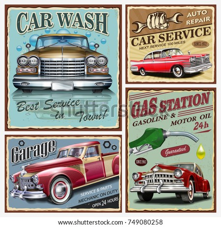 Poster Cars Retro Download Free Vector Art Stock Graphics Images
