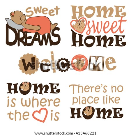 set of wall decals for kids