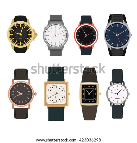 set of watches in classic