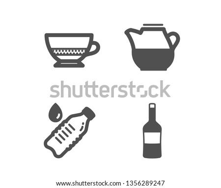 set of water bottle  milk jug