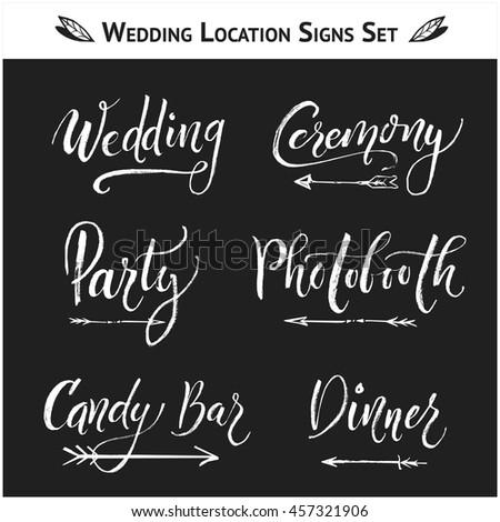 set of 9 wedding  birthday