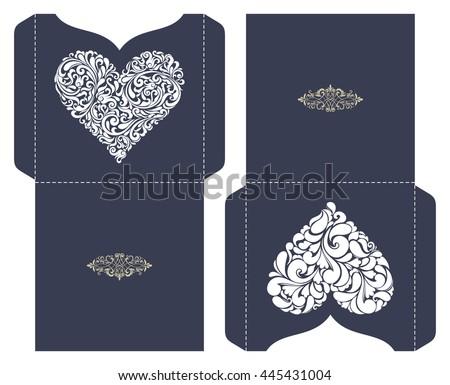 Cd com corao download vetores e grficos gratuitos set of 2 wedding invitation baroque template for laser cutting open card it stopboris Images