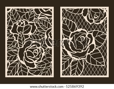 free decorative laser cut vector set download free vector art