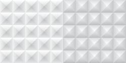 set of 4 white and gray paper blocks (pattern)