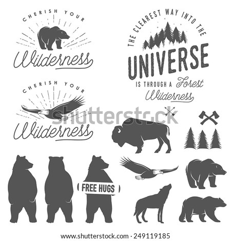 set of wilderness quotes