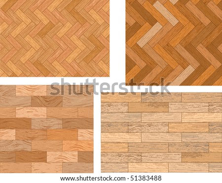 Set of wooden textures