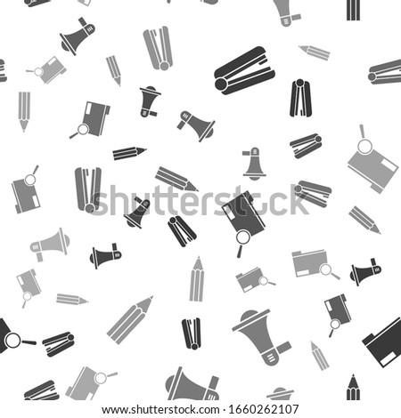 set office stapler  megaphone