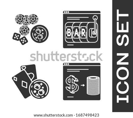 set online casino chips