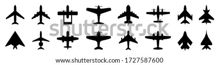 set plane icons  different