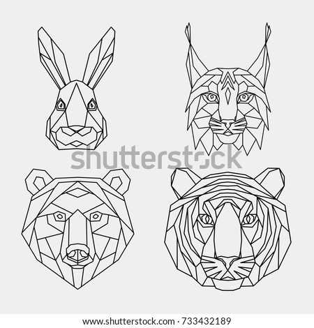 De Lobos Significados in addition Howling Wolf furthermore 282 Stickers Cheval Floral also Hunting as well Cat Coloring Pages For Adults. on deer head pattern