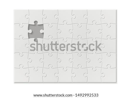 set puzzle pieces texture