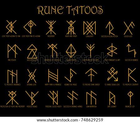 Rune Free Vector Art 5 Free Downloads