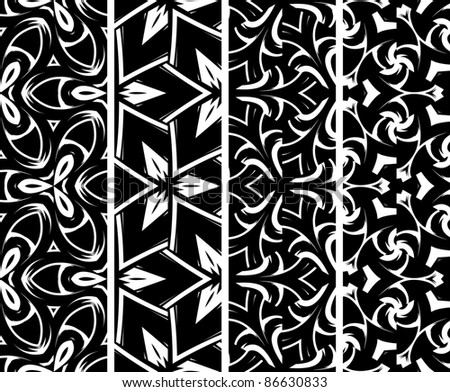 Decorative Seamless Pattern Vector Decorative Pattern Vector